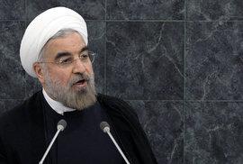 Írán je připraven na jednání s USA, trvá ale na zrušení sankcí, řekl íránský prezident
