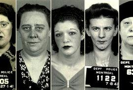 Prostitutky z období 2. světové války: Ve městě hříchu uspokojovaly vojáky i mafiány