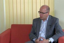 Bohuslav Sobotka: Ve Sněmovně mají sedět strany, ne oligarchové
