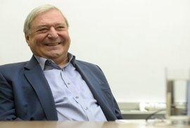 Po dlouhé nemoci dnes zemřel Miroslav Šlouf, bývalý přítel Zemana