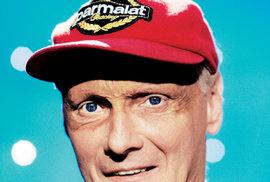 """Zalogo Parmalat načepici  dostával Lauda mezi lety 1982 a2002 """"asi 200 tisíc eur ročně"""". Dnes je částka řádově vyšší."""