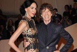 Mick Jagger se v 72 letech stane otcem. Již osminásobným