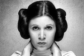 Zemřela herečka Carrie Fisherová, princezna Leia ze Star Wars