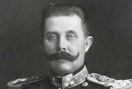 Následník trůnu, arcivévoda František Ferdinand d'Este.