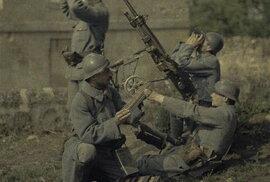 Překvapivé kolorované fotografie z první světové války