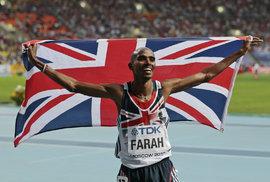 Mo Farah je britský vytrvalec a bude usilovat o další zlatý double, který na ME zvládl už před čtyřmi lety v Barceloně
