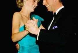 Princezna Diana a princ Charles.