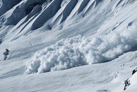 Tragédie v horském středisku. Dva Češi zahynuli pod lavinou v Rakousku, dva byli zachráněni