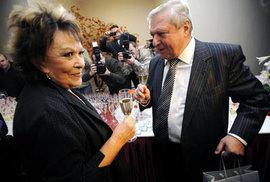Oslava šedesátin Miroslava Šloufa byla ve velkém stylu