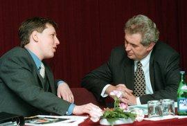 Proč se ČSSD Zemana nezeptá na odbornost Grosse, který v jeho vládě řídil vnitro, ptá se politolog Balík