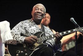 Zemřel B. B. King, král blues