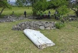 Toto je údajně část letadla MH370.