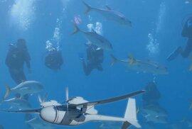 Boeing patentoval nový dron, který se může přeměnit v ponorku.
