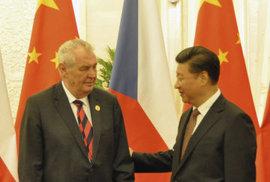 MIloš Zeman na státní návštěvě v Číně