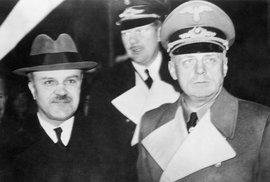 Vjačeslav Molotov a Joachim Ribbentrop