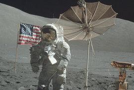 NASA zveřejnila všechny fotky z měsíčních letů Apollo