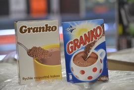 Granko kdysi a Granko dnes.