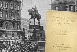 Vznik Československa: 14 dnů, které předcházely 28. říjnu 1918