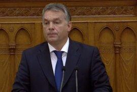 Orbán řekl, že nechce vystoupit z EU, ale zachránit ji. I před migranty