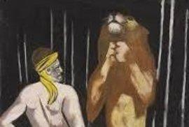 Krotitel lvů od Beckmanna, jehož se za nacistické éry zmocnil otec Cornelia Gurlitta