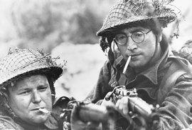 John Lennon prý o politiku v mládí vůbec nejevil zájem.