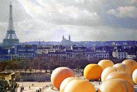 Unikátní barevné fotografie ukazují, jak vypadala Paříž před 100 lety