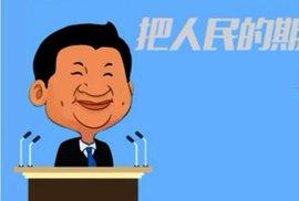"""""""Vláda zákona, klíčové reformy,"""" rapuje čínský prezident místo novoročního projevu"""