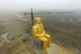 Zlatý Mao neustál kritiku Reflexu, megasocha z polí fofrem mizí