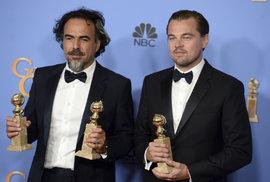 Leonardo DiCaprio jako lovec triumfoval, domů si odnesl další globus