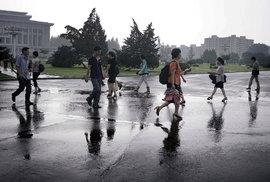 Pchjongjang čistí ulice od nežádoucích občanů. Komunisté chystají sjezd
