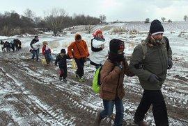 S blížící se zimou přijde další vlna: V Libyi čeká čtvrt miliónu imigrantů