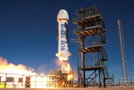 Zásilky Amazonu až do vesmíru? Bezos poráží Muska s raketami na více použití