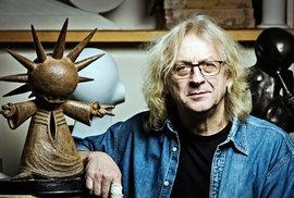 Moje socha Pohody by se na Letné fakt vyjímala: Videoblog sochaře a výtvarníka Stefana Milkova