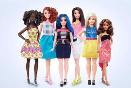 Konec anorexie. Nová Barbie s oblými tvary je jako kamarádka od vedle