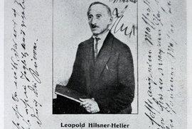 Leopol Hilsner po propuštění