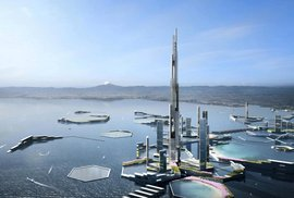 Dům do nebe: V Japonsku chtějí postavit mrakodrap vysoký rekordních 1830 metrů