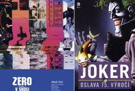 Nové komiksy: Joker slaví 75. narozeniny – a slavit může i náš muž v Americe