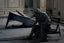 Je Batman v depresi? Podle nových fotografií Temný rytíř nesnáší dobře samotu