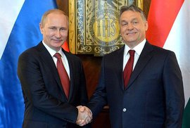 Vladimir Putin a Viktor Orbán si rozumějí. Mrk mrk.