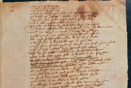 Shakespearův rukou psaný příspěvek ke hře Sir Thomas More z Britské knihovny