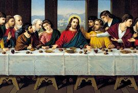 Co jedl Ježíš s apoštoly o poslední večeři