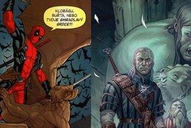 Deadpool i Zaklínač řádí v nových komiksech