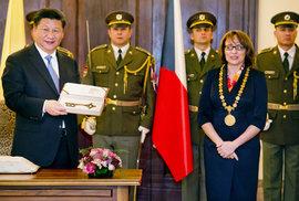 Po prezidentu Si Ťin-pchingovi by se mohla jmenovat ulice v Praze