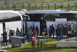 Vracení migrantů do Turecka.