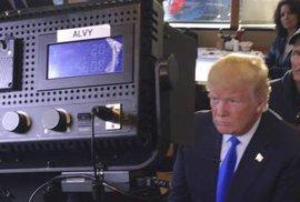 Donald Trump ve Wisconsinu.