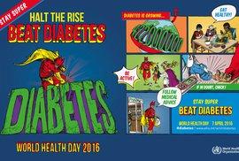 Cukrovku už má každý jedenáctý dospělý na světě