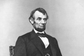 Abraham Lincoln, 1864.
