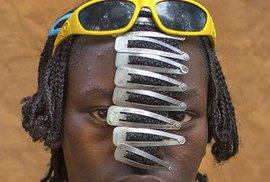 Kmen Bana z etiopského Omo Valley