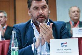 Martin Nejedlý z SPO a Lukoilu.