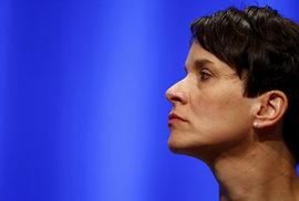 Lídryně Alternativy pro Německo (AfD) Frauke Petryová